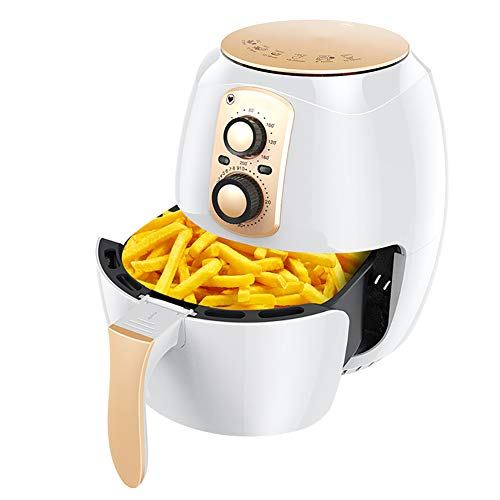 BTSSA Electric Air Fryer 1400W W/Timer, Temperature Control, Timer Up to 30-Minutes and Temperature Up to 200 Degrees, Fry Healthy with 80% Less Fat