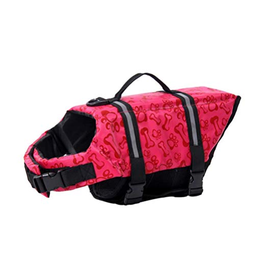 Chaleco salvavidas flotante para perros, salvavidas ajustable para perros pequeños