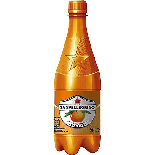 12 Flaschen San Pellegrino Aranciata Orange a 500ml in Pet Flasche inc. 3.00€ EINWEG Pfand Sanpellegrino