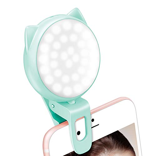 Selfie Light for Laptop Video, Ring…