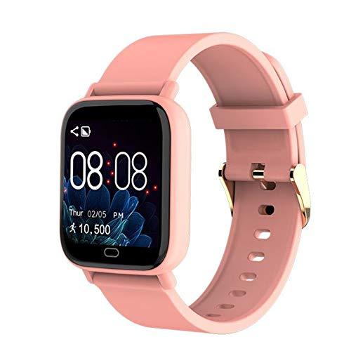NSZDG Gesundheits- Und Fitness-Smartwatch Mit Sprachsteuerung, GPS, 24/7-HErzfrequenz, Sprachassistent Und Akku Für Mehr Als 25 Tage 255 * 35 * 10,8 mm/pink