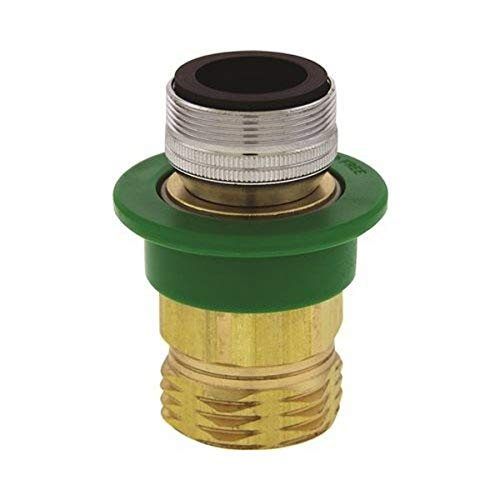 """Neoperl 15 3940 5 Small Diameter Quick Connect Kit, Kit Includes Male 15/16""""-27 x Female 55/64""""-27 Snap Fitting, 3/4"""" Male Snap Coupler, Brass"""