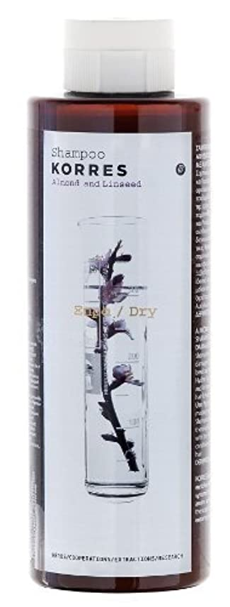 ポータルキリマンジャロできたKorres Almond and Linseed Shampoo 250ml by Korres [並行輸入品]