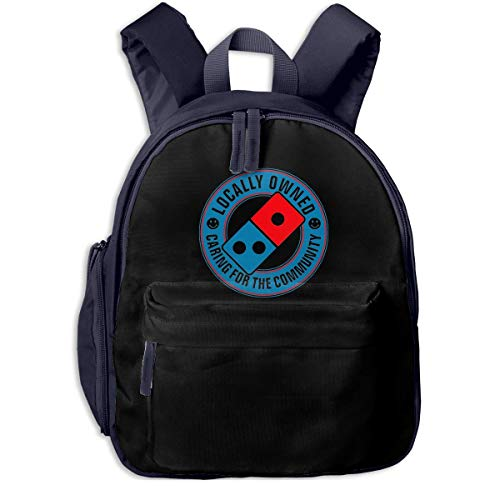 Hdadwy Domino'S Pizza Kids Backpack Boys Girls,Appearance is Fashionable, Very Practical.