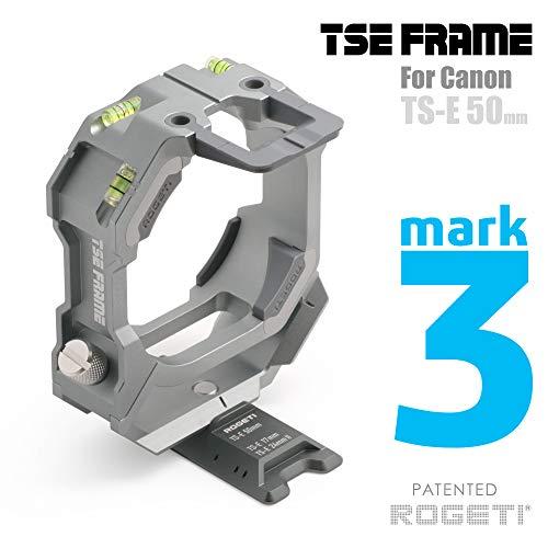 ROGETI TSE Frame/TSE Bracket Mark III+ for Canon TS-E 50mm f/2.8L Macro Tilt-Shift Lens Including Panorama nodal Plate
