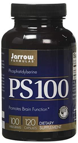 Jarrow Formulas Jarrow PS-100 (Phosphatidyl Serine), 100 Milligram, 120 Capsules