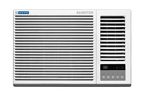 Blue Star 1.5 Ton 5 Star Inverter Window AC (Copper, 5W18GBTI, White)