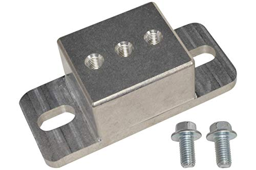 ICT Billet - Solid Aluminum Transmission Mount TH350, TH400, 700R4, 4L60E, 4L65E, 4L70E, 4L80E, 4L85E, 6L80E, 6L90E, T56 Magnum, 2004R, TR6060 Manual, Powerglide, Muncie 4 speed 551404