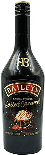 Bailey's Salted Caramel, Irish Cream Likör, Sahnelikör mit Karamell und einem Hauch Salz (2 x 0.7 l)