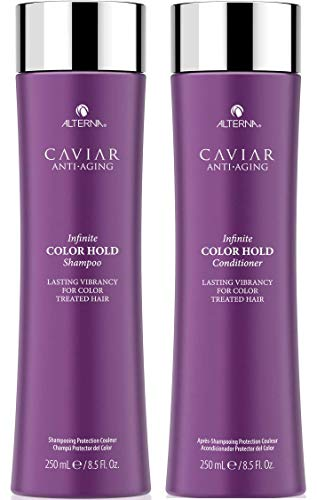 Alterna Caviar Anti-Aging Infinite Color Hold Shampoo and Conditioner Set, 8.5-Ounce (2-Pack)