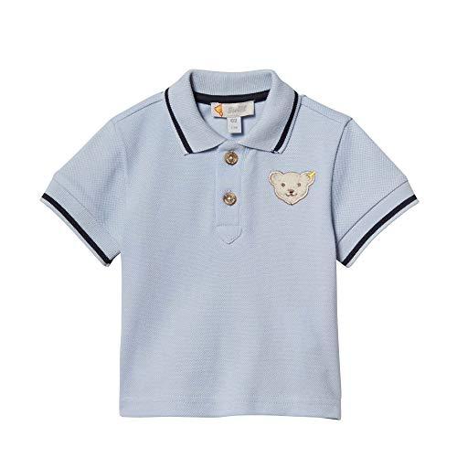 Steiff Baby-Jungen Poloshirt, Blau (Kentucky Blue 6020), 80