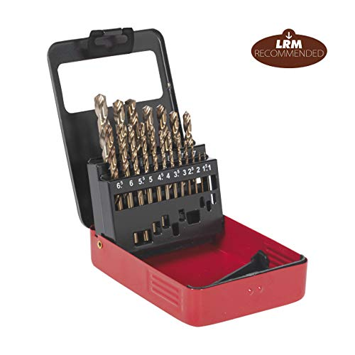 Sealey Cobalt Drill Bit Set 19Pc Metric
