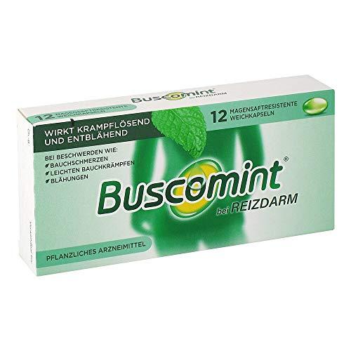 Buscomint bei Reizdarm und wiederkehrenden Bauchschmerzen 12 stk