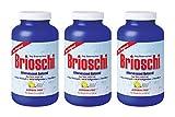 Brioschi Effervescent 8.5oz (3 Bottles) The Original Lemon Flavored Italian Effervescent - 3 Bottles
