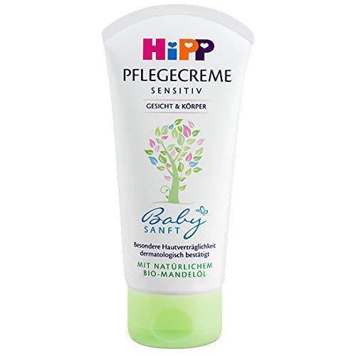 HiPP Babysanft Pflegecreme, 4er Pack (4 x 75ml)