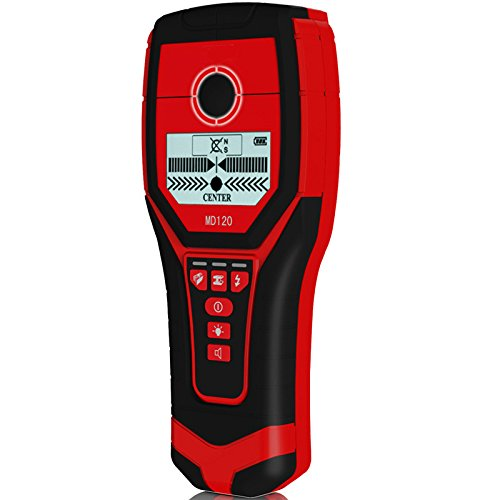 DyNamic MD120 Multifunktionale Handheld Wand Metalldetektor Holz AC Kabelfinder Scanner Genaue Wand Diagnose-tool