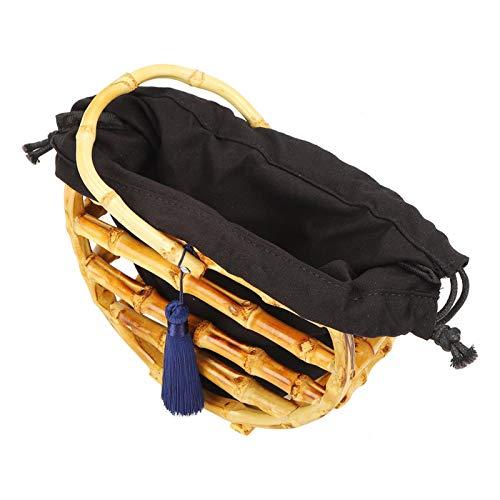 ROMACK Bolsa purificadora de Aire de bambú Charcole, Bolsas de Playa y para Mujer, Duradera y Liviana para Billetera para escapadas