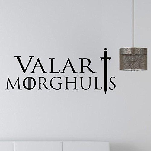 Inovey T-17 Juego De Tronos Valar Morghults Mortales Tienen Una Muerte