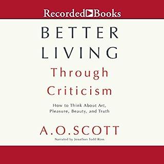 Better Living Through Criticism cover art