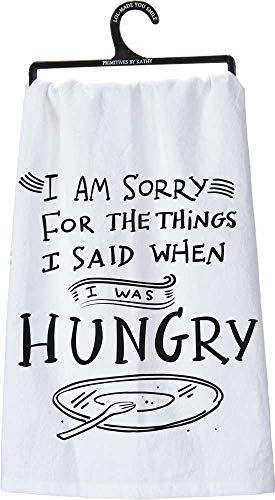I'm Sorry For the things I sad when I was Hungry