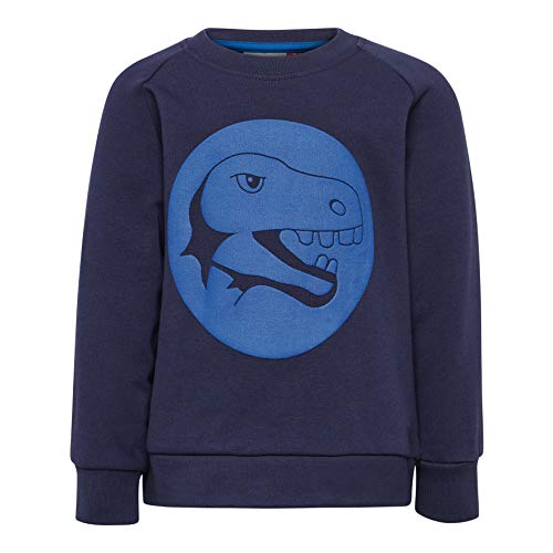 Lego Wear Duplo Boy Lwsirius 654-Sweatshirt Sweat-Shirt, Bleu (Dark Navy 590), 95 (Taille Fabricant: 80) Bébé garçon