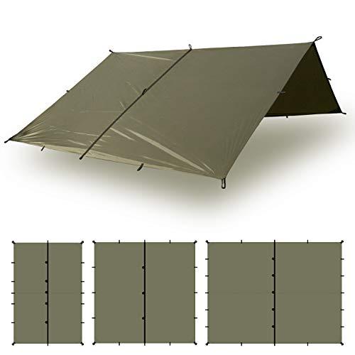 Aqua Quest Defender Tarp - Bushcraft Survival Shelter