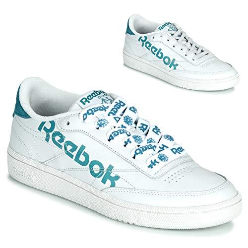 REEBOK CLASSIC CLUB C 86 Sneakers dames Wit/Blauw - 35 1/2 - Lage sneakers