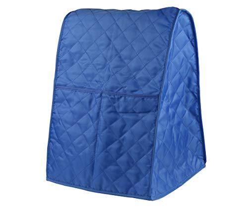Evermarket Ständer-Mischer-Abdeckung mit Tasche und Organizer-Tasche für Küchenhelfer, Sonnenstrahl, Cuisinart, Hamilton-Mixer blau