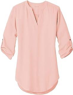 Joe`s USA Ladies 3/4 Sleeve Tunic Blouse in Sizes XS-4XL