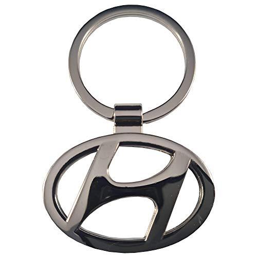 Ludostreet Llavero de Metal Compatible con Marcas de Coche (Hyundai M1)