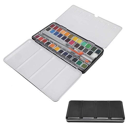 HEEPDD Set di Pittura ad Acquerello Portatile con Pennino, 36 Colori Assortiti rifornimenti di Pittura Aperto di Disegno di Arte di Schizzo per Principianti artisti Studenti o hobbisti