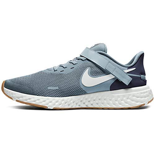 Nike Revolution Flyease 5 (4e) Zapatos casuales para correr para hombre ancho ancho Cj9885-004, color Azul, talla 42.5 EU