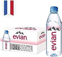 Evian Natural Mineral Water, 24 x 500ml