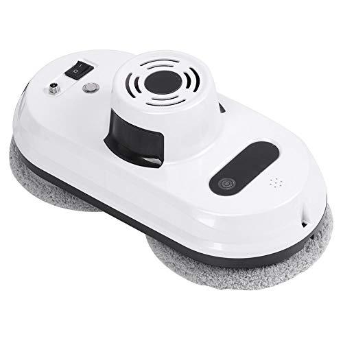 Robot Limpiador de Ventanas, Aspiradora Automática por Infrarrojos Automática Anticaída Aspiradoras Inteligentes Súper Fuerte Velocidad Adsorción Máquina de Limpieza Cristales para Ventanas Altas(UE)