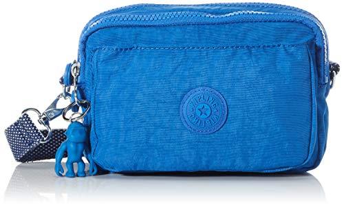 Kipling Damen Abanu Multi Umhängetasche, Blau (Wave Blue), 19x13x8 cm