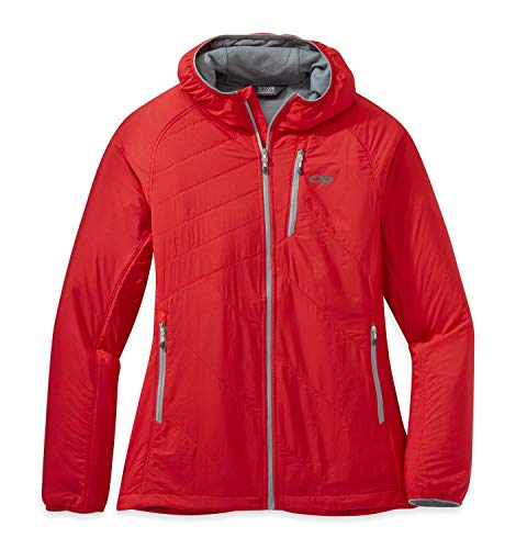 Outdoor Research Refuge Air Hooded Women's Jacket teaberry M
