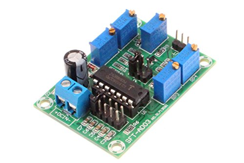 NOYITO ICL8038 Signal Generator Module Medium Low Frequency Source Sine Wave Triangle Wave Square Wave Triple Waveform Generator Module