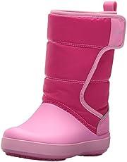 Crocs LodgePoint Snow Boots Kids, Stivali da Neve Unisex-Bambini, 33|34