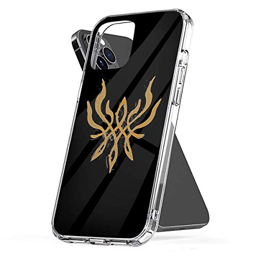 Phone Case Fire Emblem Three Houses - Byleths Crest of Flames (Blazing Version) Compatible with iPhone 6 6s 7 8 X XS XR 11 Pro Max SE 2020 Samsung Galaxy Accessories Waterproof