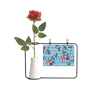 cold master DIY lab Rhododendron Drawing Art Plant Artificial Rose Flower Hanging Vases Decoration Bottle