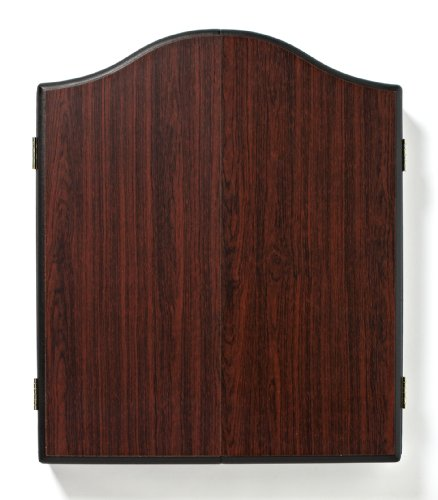 Winmau Darts Cabinet (Wooden in a Dark red-Brown Finish)