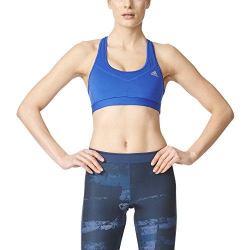 adidas Sujetador para Mujer Performance Techfit Molded Cup, Mujer, S16APW253, Azul, Small