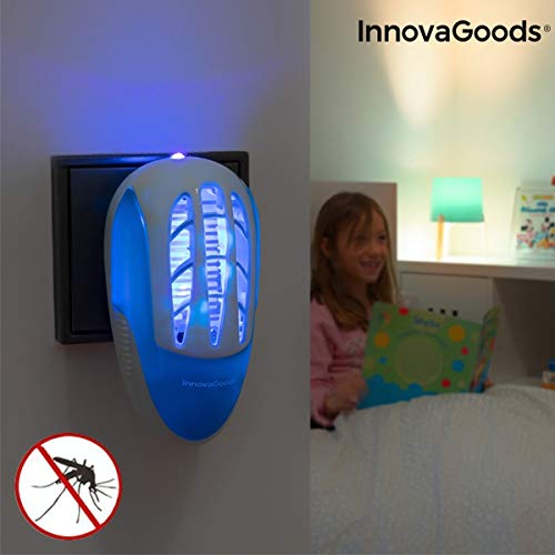 Enchufe Antimosquitos con LED Ultravioleta