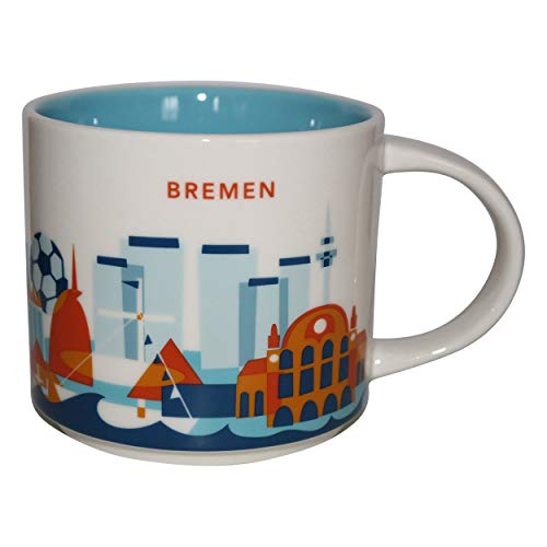 Starbucks City Mug You Are Here Collection Bremen Germany Deutschland Kaffeetasse Coffee Cup