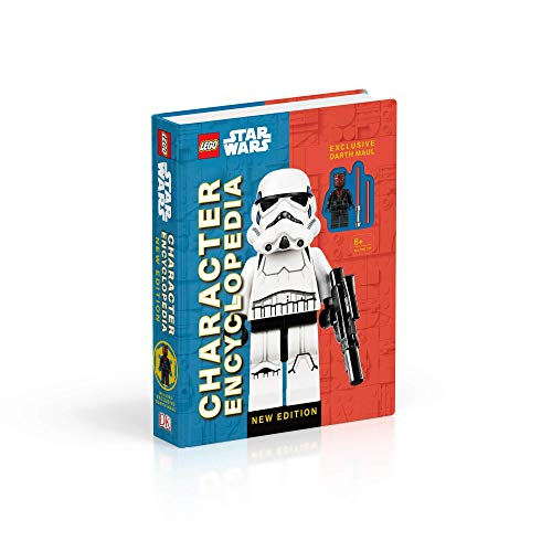 Lego Star Wars Character Encyclopedia: with exclusive Darth Maul Minifigure