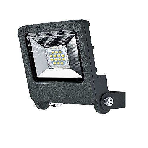 Osram 4058075064263 Faretto a LED 10 W, Bianco Caldo, Standard, Grigio