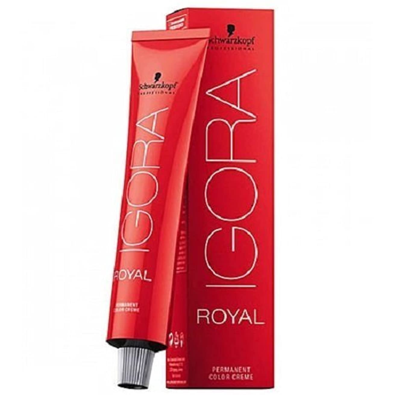 Schwarzkopf Igora Royal Permanent Hair Color - 6-12 Dark Blonde Cendre Ash