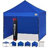 ABCCANOPY Pavillon 3x3m WASSERDICHT Flatpavillon Partyzelt Gartenzelt Festzelt mit 4