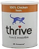 thrive Cat 100% Chicken Treats Maxitube, 200g