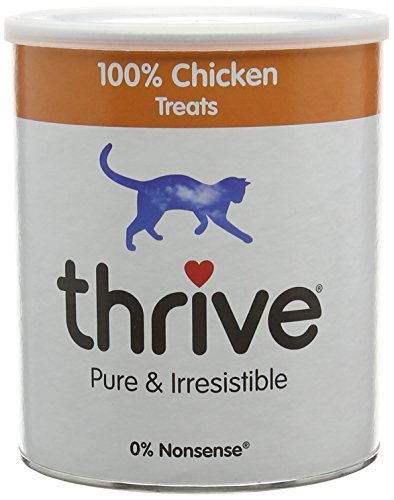 Thrive 100% Kip Snacks Maxitube Kattensnacks, 200 g